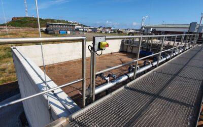 Abwasserreinigung auf der Insel: neue Kläranlage Helgoland ist eröffnet